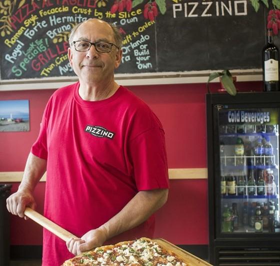 Jim Zimmerman of Pizzino. | Mabel Suen