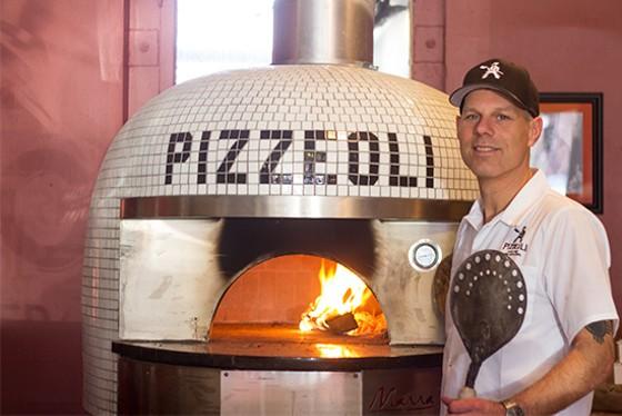 Scott Sandler of Pizzeoli. | Mabel Suen