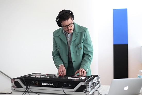 Catch DJ Boogieman at the 2015 RFT Music Showcase: The Gramophone at Midnight. - IMAGE COURTESY OF PULITZER ARTS FOUNDATION.