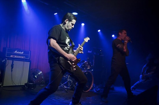 Catch Hell Night at the 2015 RFT Music Showcase: The Demo at 5 p.m. - PHOTO BY TRAVIS LAWRENCE.