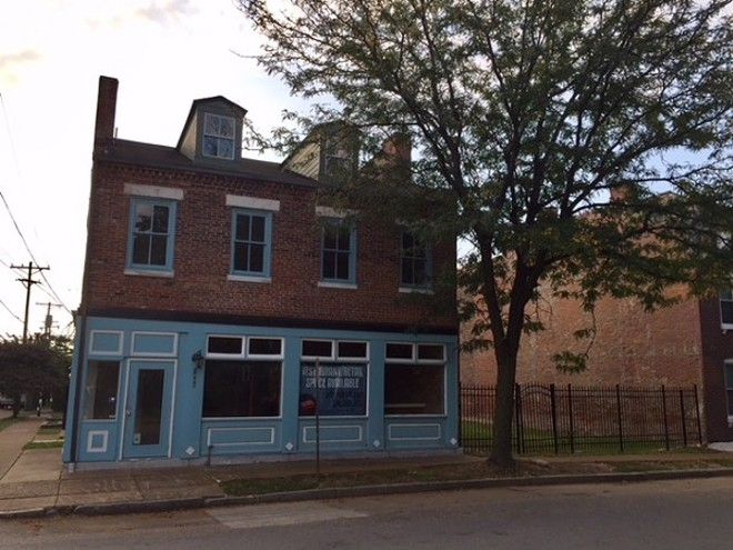 The DogHaus, Soulard's dog-friendly bar, has partnered with Plantain Girl for its food service. - SARAH FENSKE