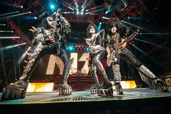 Kiss will perform at Hollywood Casino Amphitheatre on Sunday, September 1. - TODD OWYOUNG