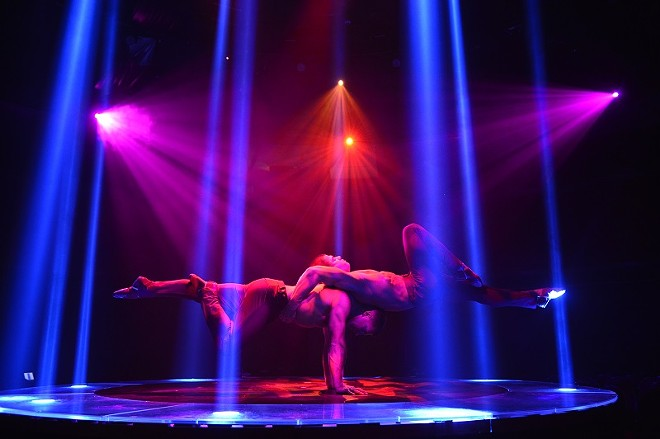 What holiday season wouldn't be livened by cirque? - COURTESY OF A MAGICAL CIRQUE CHRISTMAS