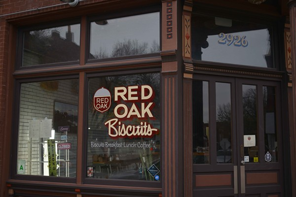 Red Oak Biscuits has been open on the corner of Pennsylvania and Cherokee for under a month, but has received a warm welcome from area residents. - TOM HELLAUER