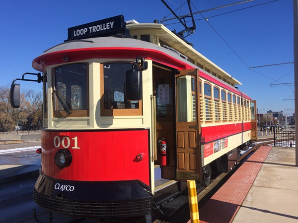 The Loop Trolley keeps blasting its horn after hours, according to neighbors. - DANIEL HILL