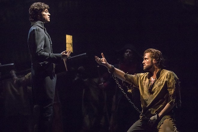 Les Miserables returns to the Fox Theatre for a brief run. - MATTHEW MURPHY