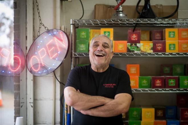 "Sleiman ""Sam"" Bathani was a popular singer before leaving music for the restaurant business. - JEN WEST"