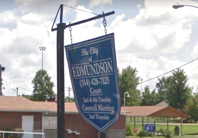 The City of Edmundson trapped poor people in a cycle of debt and jail, a new lawsuit alleges. - VIA GOOGLE EARTH