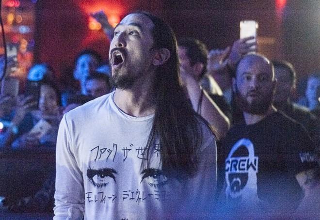 Steve Aoki will perform at Ryse Nightclub on Saturday, February 2. - KELLY GLUECK
