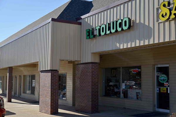 El Toluco's space was formerly occupied by another Mexican grocery, La Morena. When Fausto discovered La Morena had closed while attempting to by ingredients there, he called his wife and the pair moved in on the space for their own venture. - TOM HELLAUER