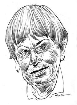 Ursula K. Le Guin. - ILLUSTRATION BY GREG HOUSTON