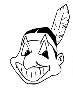 Chief Wahoo. - ILLUSTRATION BY GREG HOUSTON