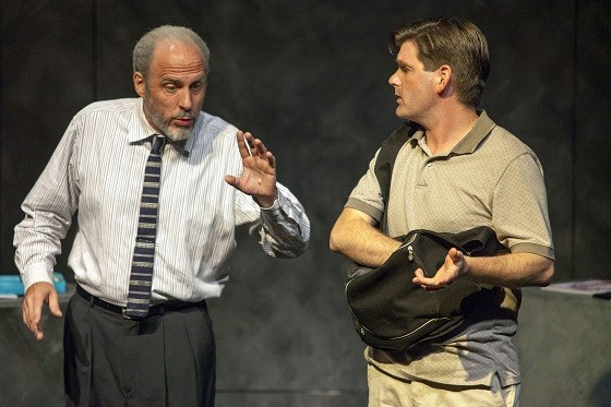 "G.P. Hunsaker and Nathan Bush in ""Custom."" - JOHN LAMB"