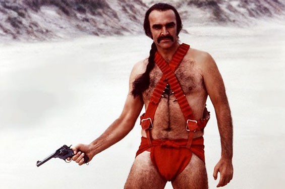 Sean Connery makes this look good.