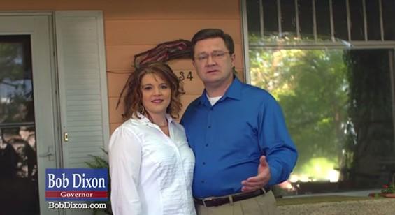 Bob Dixon and his wife Amanda. - YOUTUBE