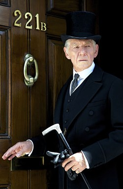 Ian McKellan stars as an aging Holmes. - JOHN STOW COURTESY OF MIRAMAX AND ROADSIDE ATTRACTIONS.