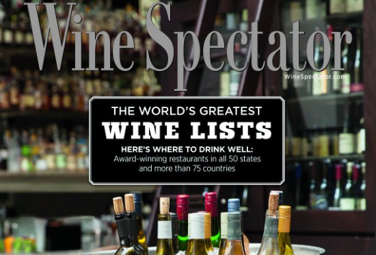 COURTESY OF WINE SPECTATOR