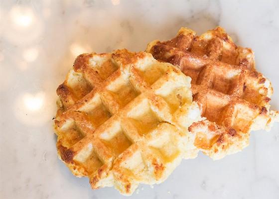 Liege waffles from Taste of Belgium.