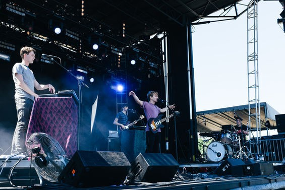 Glass Animals returns to St. Louis tonight at the Old Rock House. See more photos from the band's performance at LouFest 2014 in RFT Slideshows. - PHOTO BY BRYAN SUTTER
