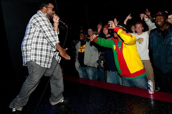 Raekwon returns to St. Louis alongside Ghostface Killah this Saturday at the Ready Room. See more photos from his 2011 show in RFT Slideshows. - PHOTO BY JON GITCHOFF