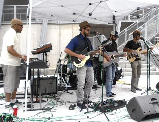 Brothers Lazaroff @ the Old Post Office Plaza in St. Louis