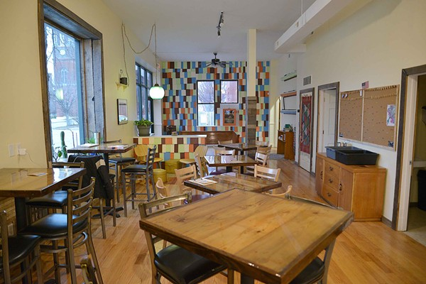The 1,800 square ft. space gives Kitchen House room for professionals getting work done, diners and other patrons. e - TOM HELLAUER