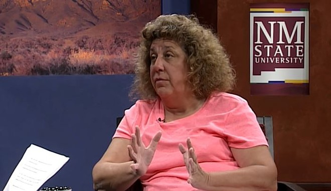 Beth Vesco-Mock. - SCREENSHOT VIA YOUTUBE