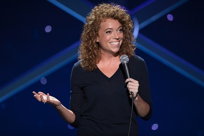America's sweetheart, Michelle Wolf, rolls into town for two nights. - CRAIG BLANKENHORN/HBO