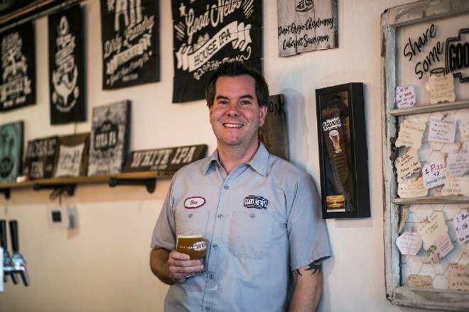For Dan Tripp, Good News Brewing is about much more than beer. - JEN WEST