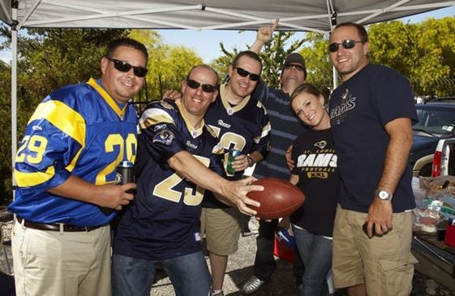 St. Louis football fans are in an emotionally distressing bind. - STEVE TRUESDELL