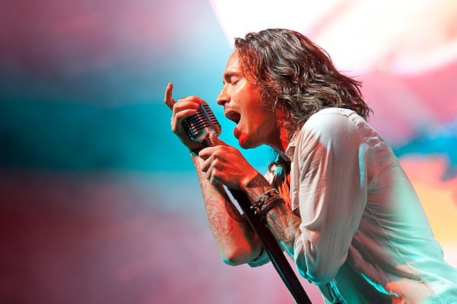 Incubus returns to St. Louis tonight for a frat-style rager alongside Deftones and Death from Above 1979. - PHOTO BY JASON STOFF