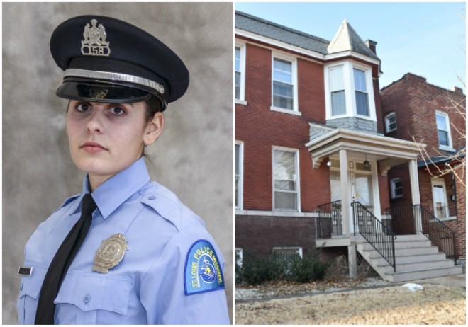 Officer Katlyn Alix was shot in a fellow cop's apartment in Carondelet. - COURTESY ST. LOUIS POLICE/DOYLE MURPHY