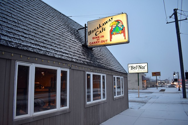 BreakAway Cafe shares a site with Bel-Nor's town hall and police department. - DANIEL HILL