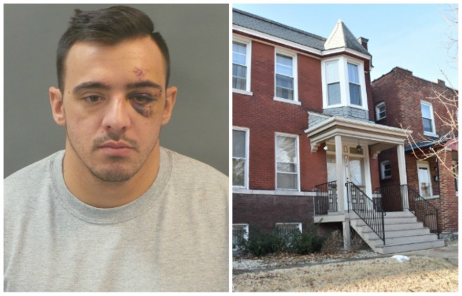St. Louis police Officer Nathaniel Hendren will be on house arrest if he posts bail, a judge rules. - SLMPD/DOYLE MURPHY