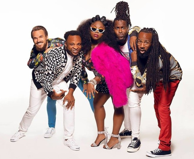 Tank and the Bangas will perform at Delmar Hall on Wednesday, April 17. - NICK SPANOS