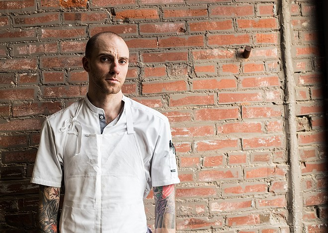 Chef Logan Ely. - MABEL SUEN