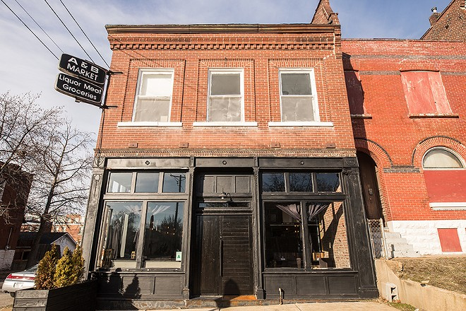 The restaurant is located in a former liquor store in Fox Park. - MABEL SUEN