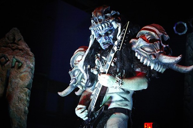 Legendary heavy metal band Gwar returns to St. Louis this Friday. - PHOTO BY STEVE TRUESDELL
