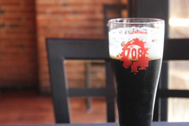The signature Stout will eventually be one of close to 100 beers on offer. - PHOTO BY SARAH FENSKE