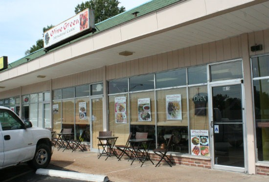 Olive Green International Cuisine is at 8615 Olive Blvd. in University City - PHOTO BY JOHNNY FUGITT