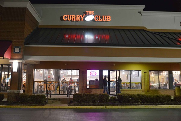 Curry Club is on Clarkson Rd. by the Chesterfield Mall. - TOM HELLAUER