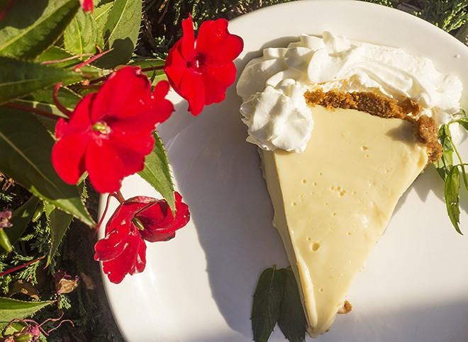 Key lime pie. - MABEL SUEN