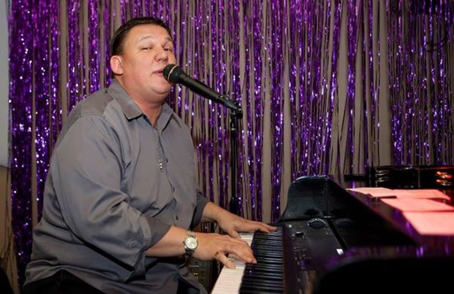 Phil Manaois works the ivories. - PHOTO COURTESY OF SPARKY ENTERTAINMENT