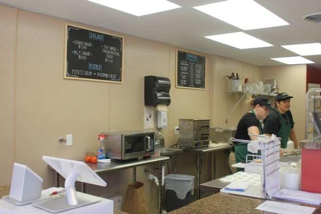 Vitale's Deli makes its sandwiches to order. - CHERYL BAEHR