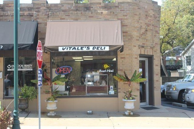 The exterior of Vitale's Deli, located on Sappington Road. - CHERYL BAEHR