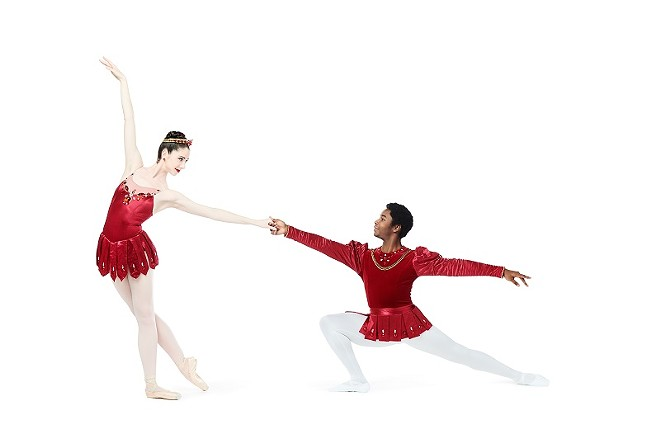 "The Saint Louis Ballet's production of ""Rubies"" is for lovers. - PRATT KREIDICH, COURTESY OF SAINT LOUIS BALLET"