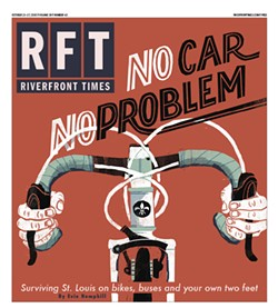 The cover of the October 21, 2015, Riverfront Times. - NOAH MACMILLAN