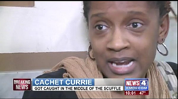 Cachet Currie, interviewed by KMOV in January.