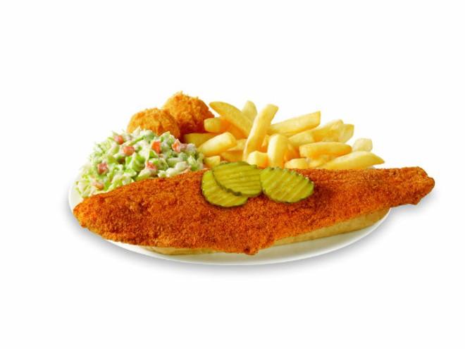 Hot fish. - PHOTO COURTESY OF CAPTAIN D'S