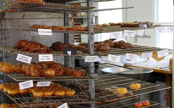 The Donut Stop has 103 types of donuts on offer. - PHOTO COURTESY OF FLICKR/ELIZABETH